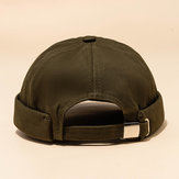 Casual Street Retro Hip Hop Innocent Landlord Hat Cappello da marinaio senza tesa