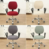 Swivel Computer Stretch Chair Covers Armchair Back Seat Decor Office Rotating Set
