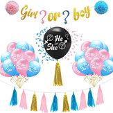 Globos de látex Niño o niña / él o ella Fiesta creativa Baby Shower Supply Decoraciones para fiestas