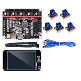 Плата контроллера BIGTREETECH SKR V1.3 + сенсорный экран TFT3.5 + степлер TMC2208 Мотор материнская плата драйвера Набор для 3D-принтера