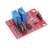 NE555 Pulse Module LM358 Versione aggiornamento generatore di segnale ad onda quadra regolabile in frequenza e servizio