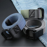 140cm ZANLURE DB02 Punch Free Buckle Canvas Waist Belt Tactical Belt For Outdoor Sports Hunting