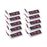 10Pcs URUAV 3,8V 300mAh 80C / 160C 1S Lipo Batterie PH2.0 Stecker für Eachine Mülleimer