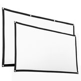 60/120 Inch Portable Foldable Projector Screen 16:9 HD Home Cinema Theater Outdoor