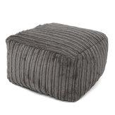 Сиденье для ног Подставка для ног Игровой стул Диван Вельвет Мебель Крытый погремушка Чехлы