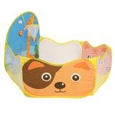120x120cmx76cm Plegable Niño Niños Bebé Ocean Ball Pit Piscina al aire libre Tienda de juguetes de interior con cesta
