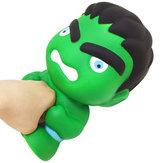 25cm großer grüner Mann drückt Spielzeug langsam Rebound Squishy mit Beutelverpackung