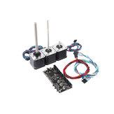 متعدد المواد 2.0 MMU2 المجلس مع القوة سلك الإشارة + MMU2.0 الرصاص برغي موتور كيت للطابعة 3D Prusa i3 MK3