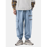 Mens New Fashion Casual Loose Plus Tamaño Guapo Retro Jean