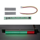 DIY 32 LED Music Electrical Level Indicator VU Meter Audio Level Meter Kit For Amplifier Board Adjustable Light Speed Board AGC Mode