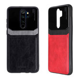 Đối với Xiaomi Redmi Note 8 Pro Ốp lưng Bakeey Luxury Business PU Leather Mirror Glass Shockproof Protective Case