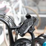 HOCO Suporte de telefone Handble de moto para moto para telefone inteligente de 3,7-6,5 polegadas iPhone 11 Samsung Galaxy Note 10