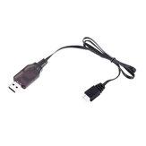 HS 7.4V 2S Li-ionバッテリー充電器USB充電ケーブル18301 18302 18311 18312 1/18 RCカーパーツ用