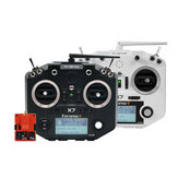 FrSky Taranis Q X7 ACCESS 2.4GHz 24CH Mode2 Transmitter com R9M 2019 Módulo de longo alcance para RC Drone
