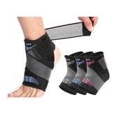 AOLIKES 1PC Comodo supporto traspirante per caviglia Sport in esecuzione Protezione per caviglia Idoneità Protezione