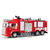 RC Fire Truck Remote Control Toys Full Function Rechargeable Firetruck