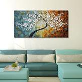 Peint à la main peintures à l'huile Art moderne moderne floral mur tendu de toile pour la décoration de la maison peintures