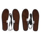 USB Electric Heated Shoe Insole Portable Feet Heating Insole Heater Foot Winter Warmer Pad Unisex