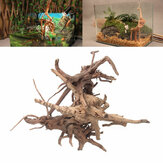 Decor Tree Trunk Fish Tank landschapsarchitectuur hout natuurlijke Plant Stump Ornament