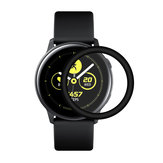 Enkay Clear HD PET-horlogebeschermer met gebogen rand voor Samsung Galaxy Watch Active 2019
