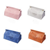 Leather Tissue Holder Print Design Multi-color Paper Box Car Bedroom Living Room Household Towel Boxes