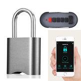 Smart bluetooth Wachtwoordvergrendeling Telefoon APP Waterdicht Diefstal Hangslot Autorisatie op afstand Keyless Deurslot