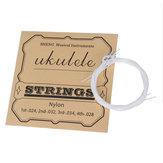 EVAN UK06 Nylon Cuerda de ukelele para guitarra de ukelele de 21