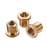 3Pcs Gear Shift Knob Thread Adapter Nuts Insert M10x1.25 & M10x1.5 & M8x1.25