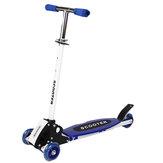 Patinete plegable para niños Scooters de 3 ruedas Altura ajustable Edad 3-7 Regalo