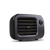 Mini Household Desktop Electric Heater PTC Wide Angle Fast Heating Convective Air Duct Intelligent Temperature Control for Home Office