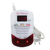 Bakeey 433MHz 315MHz Wired Gas Detector For Alarm System