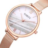 GAIETY G574 Colorful Rose Gold Steel Band Ladies Wrist Watch