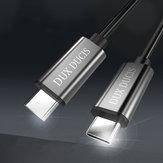 Bakeey 3A PD Type C à Type C Câble de données de charge rapide pour Huawei P30 Pro Mate 30 MacBook2018 Pro Laptop Air Laptop