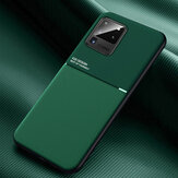 Bakeey Magnetic Non-slip Leather Texture TPU Shockproof Protective Case for Samsung Galaxy S20 Ultra