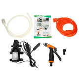 100W 5.5L High Pressure Self-Priming Electric Car Wash Pump Power Tool 12v Portable Washing Machine Water Pump Set