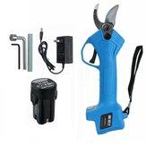 16.8V / 21V Lithium Rechargeable Sécateur électrique sans fil sécateur sécateur coupe-branche de jardin