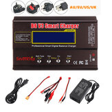 B6 V3 80W 6A Lipo Battery Balance Charger Discharger Upgrade Version with Power Supply Adapter