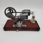 Hot Air Stirling Engine Motor Model Generator Education Toys Sterling Engine