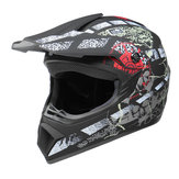 Casco Moto Integrale Racing Motocross Sicurezza Modulare Flip Up