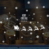 Miico SK6028 Christmas Sticker Window Wall Stickers Removable For Christmas Party