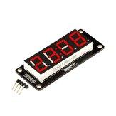 Robotdyn® de 4 dígitos LED Pantalla Tubo de 7 segmentos TM1637 50x19 mm Rojo Reloj Pantalla Colon