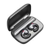 S19 TWS Sospensione Orecchio Conduzione ossea Bluetooth 5.0 Sport vivavoce Auricolare cuffia
