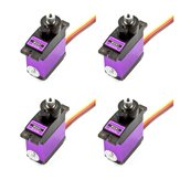 4PCS MG91 13g 2.6KG Torque Metal Gear Digital Servo for RC model Airplane Robot