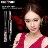 Müzik Çiçek Su Geçirmez Anti-ter Kaş Kalem Boyalı Kaş