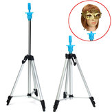 Fecruize Adjustable Tripod Stand Holder for Hairdressing Training Hair