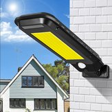 Solar Power 100/210 COB LED Street Light Outdoor Gradent Path Wall Lamp Waterproof