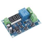 XH-M608 DC6-40V Batterie Lade-Entlademodul Integriertes Voltmeter Unterspannungs- und Überspannungsschutz Timing Lade- und Entladekarte