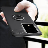 Bakeey 360º Rotating Magnetic Ring Holder Soft TPU Shockproof Protective Case for Samsung Galaxy S20 Ultra