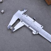 0-150mm 0.02mm Carbon Steel Metal Vernier Caliper Gauge Measurement Calipers Micrometer Measuring Tools