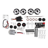 SINOHOBBY DIYQ1 1/28 2.4G AWD RC Car Kit Full Proportional with Motor Servo Transmitter